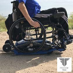 כסא גלגלים לים ולשטח