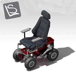 כיסא גלגלים לשטח