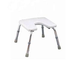כיסא טלסקופי לאמבטיה עם פתח U