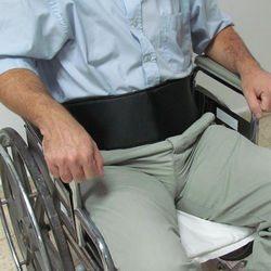 חגורת אגן סגירת X לכיסא גלגלים