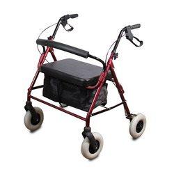רולטור 4 גלגלים רחב עם מושב