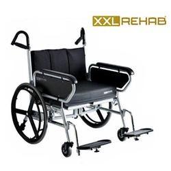 כסא גלגלים מחוזק מיוחד לכבדי משקל -  עד 325 ק'ג