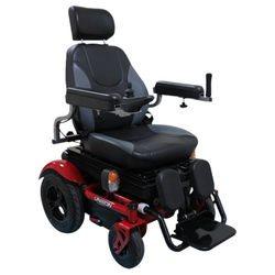 כסא גלגלים ממונע עם מושב מתרומם