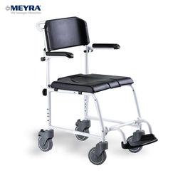 כסא רחצה ושירותים על גלגלים