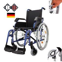 כסא גלגלים מאלומינים קל משקל