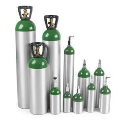 מיכל חמצן 5 או 3 ליטר אלומיניום