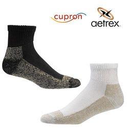 גרביים לסוכרתיים ללא אחיזת גומי קצר  Cupron