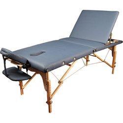 מיטת עיסוי וטיפולים מעץ