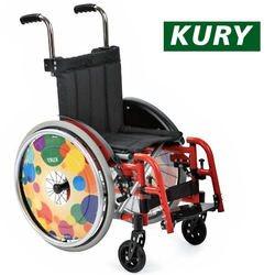 כסא גלגלים לילדים - קל צבעוני ומתקפל
