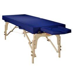 מיטת עיסוי וטיפולים רחבה מעץ