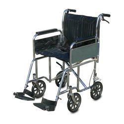 כסא גלגלים להעברה עם ידיות ארוכות