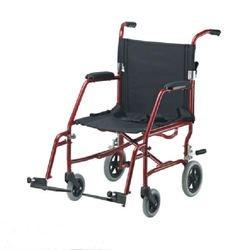 כסא העברה מאלומיניום ללא מעצור למוביל