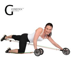 גומיות אימון עם גלגלי כוח ג'ימסטיק