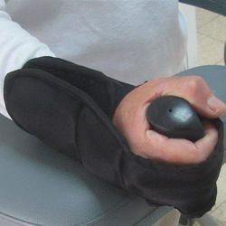 כפפות אחיזה להליכון אמות או מכשירי פיזיותרפיה