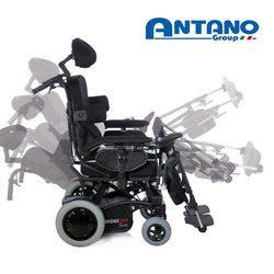 כסא גלגלים ממונע עם טילט וגב הטיה
