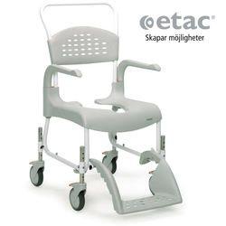 כסא רחצה ושרותים עם גלגלים גובה טלסקופי