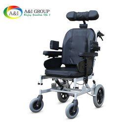 כסא גלגלים סיעודי טילט אין ספייס עם גלגלים קטנים