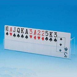 מחזיק קלפים מפרספקס