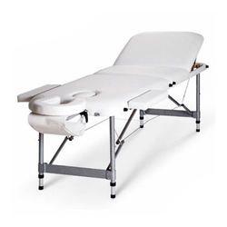 מיטת עיסוי וטיפולים עם גב מתרומם