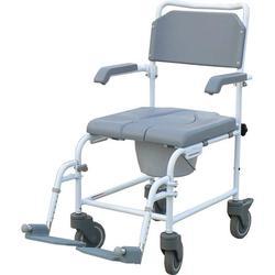 כסא אלומיניום לרחצה ושירותים