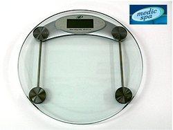 משקל דיגיטאלי מזכוכית מחוסמת