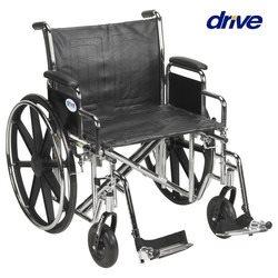כסא גלגלים סטנדרטי לכבדי משקל