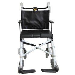 כסא רחצה ושירותים מתקפל מאלומיניום