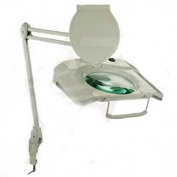 מנורה מגדלת מרובעת עם תאורת לד והגדלה 5D