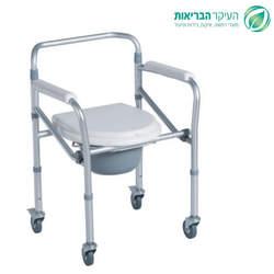 כסא שירותים מתקפל