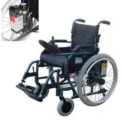 כסא גלגלים ממונע מתקפל עם סוללות ליתיום