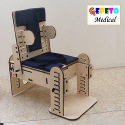 רבגונית - כיסא תומך רב שימושי