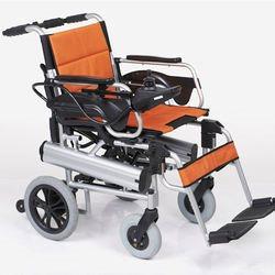 כסא גלגלים ממונע קל משקל ומתקפל  F-2