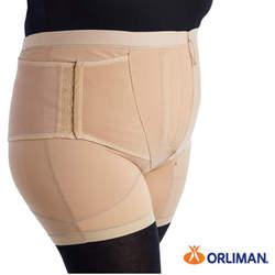 מכנס תמיכה עם חגורת בטן ותמיכה גבית