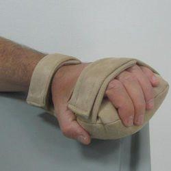 כרית תחושתית לכף היד