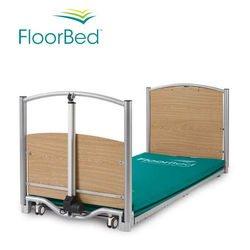 מיטה סיעודית נמוכה למניעת נפילות