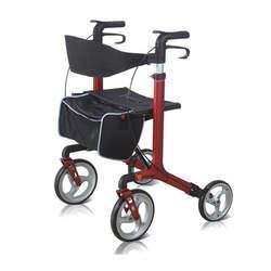 רולטור 4 גלגלים עם מושב מתקפל