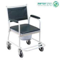כסא שירותים עם מושב קשיח