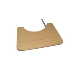 שולחן עץ מתקפל לכסא גלגלים