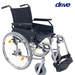 כסא גלגלים קל משקל המאושר לנסיעה ברכב DRIVE
