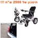 כיסא גלגלים ממונע + כננת לרכב במבצע