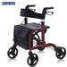 רולטור 4 גלגלים עם מושב מתקפל Eurocare