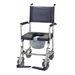 כסא שירותים על גלגלים PU