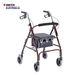 הליכון למבוגרים 4 גלגלים MERITS