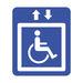 מדרגון משטח מתקפל לכיסא גלגלים