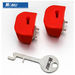 זוג מעצורים עם מפתח לידיות ואקום Mobeli