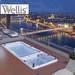 בריכת זרמים swim spa    WELLIS
