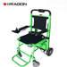 כסא גלגלים ממונע המשולב עם זחל מטפס מדרגות אינטגרלי DRAGON