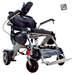 כסא גלגלים ממונע חשמלי מתקפל קל משקל Light Chair Logo Silver