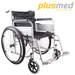 כסא גלגלים מוסדי (כסא בית חולים)  PLUSMED