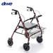 רולטור 4 גלגלים עם כסא לכבדי משקל Drive